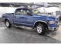 2002 Atlantic Blue Pearl Dodge Ram 1500 SLT Quad Cab  photo #4