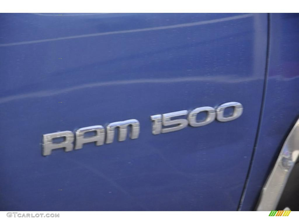 2002 Ram 1500 SLT Quad Cab - Atlantic Blue Pearl / Dark Slate Gray photo #5