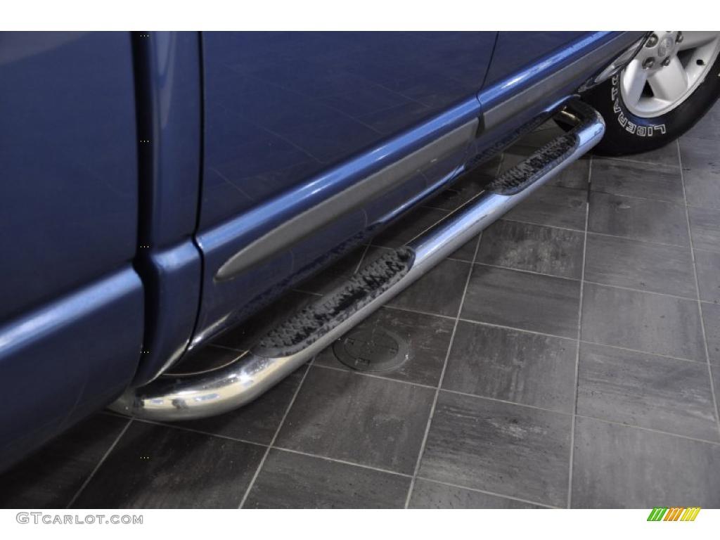 2002 Ram 1500 SLT Quad Cab - Atlantic Blue Pearl / Dark Slate Gray photo #7