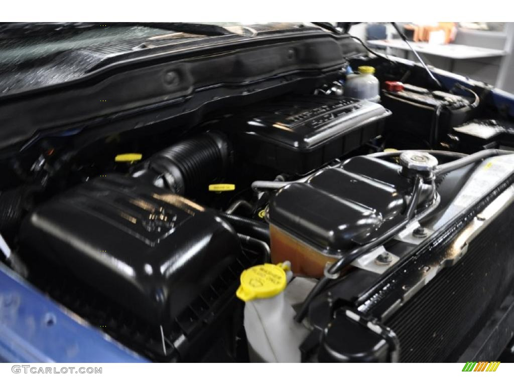 2002 Ram 1500 SLT Quad Cab - Atlantic Blue Pearl / Dark Slate Gray photo #21