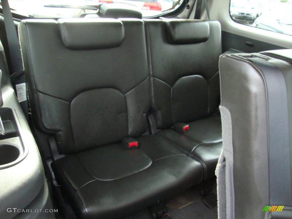 2008 Nissan Pathfinder Le V8 4x4 Interior Photos