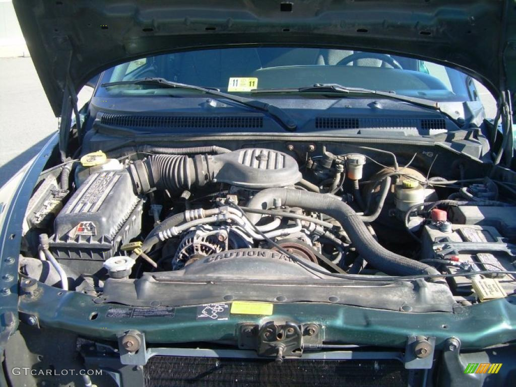 on 2002 Dodge Dakota Extended Cab 4x4