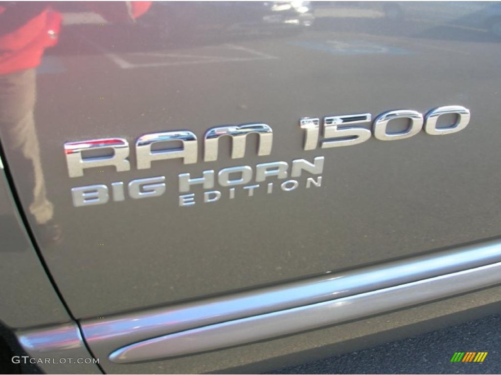 2006 Ram 1500 Big Horn Edition Quad Cab 4x4 - Mineral Gray Metallic / Medium Slate Gray photo #10