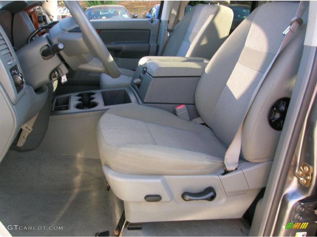 2006 Ram 1500 Big Horn Edition Quad Cab 4x4 - Mineral Gray Metallic / Medium Slate Gray photo #11