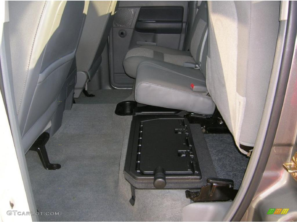 2006 Ram 1500 Big Horn Edition Quad Cab 4x4 - Mineral Gray Metallic / Medium Slate Gray photo #12