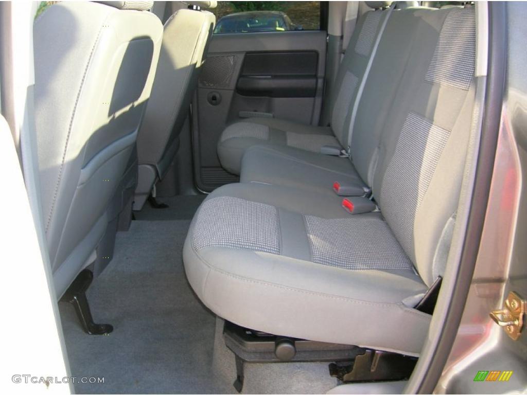 2006 Ram 1500 Big Horn Edition Quad Cab 4x4 - Mineral Gray Metallic / Medium Slate Gray photo #13