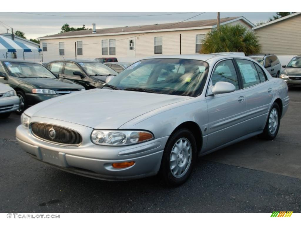 Sterling Silver Metallic 2000 Buick Lesabre Limited