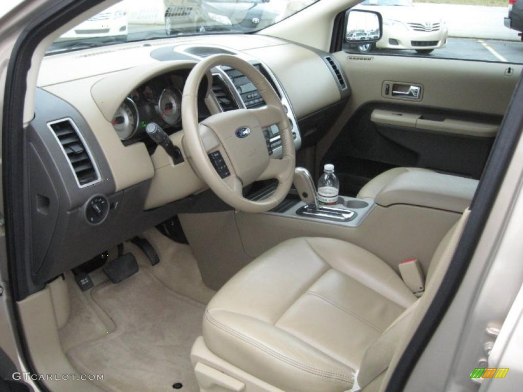 camel interior 2007 ford edge sel plus photo 40702045. Black Bedroom Furniture Sets. Home Design Ideas