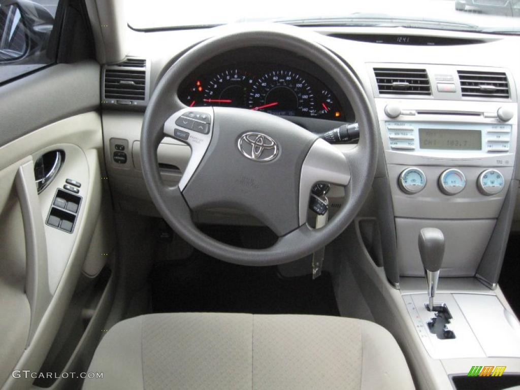 2009 toyota camry le bisque dashboard photo 40702569. Black Bedroom Furniture Sets. Home Design Ideas