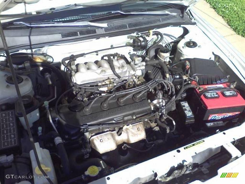 1995 Nissan Sentra GXE 1.6 Liter DOHC 16-Valve 4 Cylinder ...