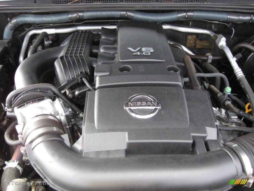 2010 Nissan Frontier Se Crew Cab 4x4 4 0 Liter Dohc 24