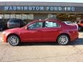 2011 Red Candy Metallic Ford Fusion SEL V6  photo #1