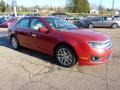 2011 Red Candy Metallic Ford Fusion SEL V6  photo #6