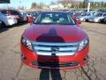 2011 Red Candy Metallic Ford Fusion SEL V6  photo #7