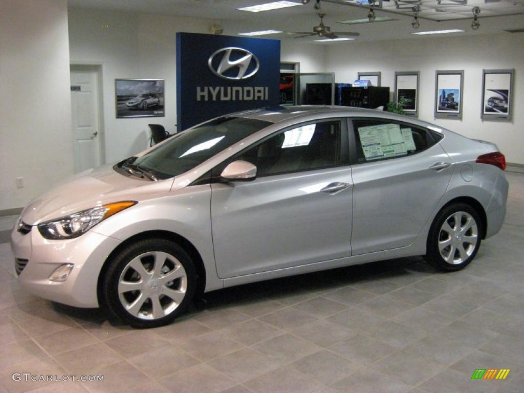 radiant silver 2011 hyundai elantra limited exterior photo 40707677. Black Bedroom Furniture Sets. Home Design Ideas