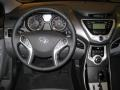 Dashboard of 2011 Elantra Limited