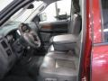 2007 Inferno Red Crystal Pearl Dodge Ram 3500 Laramie Quad Cab 4x4  photo #5