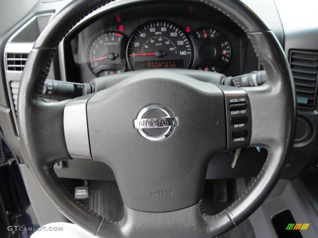 2007 Nissan Titan Se Crew Cab Graphite Black Titanium