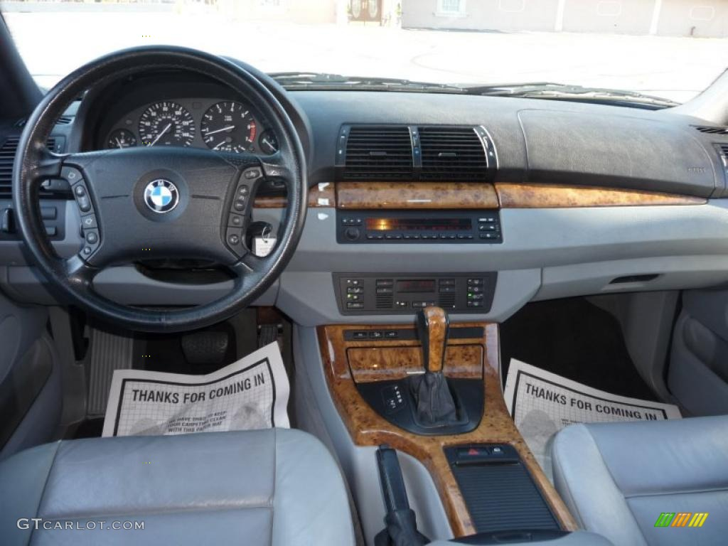2000 Bmw X5 4 4i Gray Dashboard Photo 40726254 Gtcarlot Com