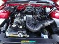 2007 Torch Red Ford Mustang V6 Deluxe Coupe  photo #29
