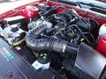 2007 Torch Red Ford Mustang V6 Deluxe Coupe  photo #30