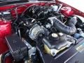 2007 Torch Red Ford Mustang V6 Deluxe Coupe  photo #31