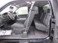 2010 Chevrolet Silverado 1500 Ebony Interior Interior Photo