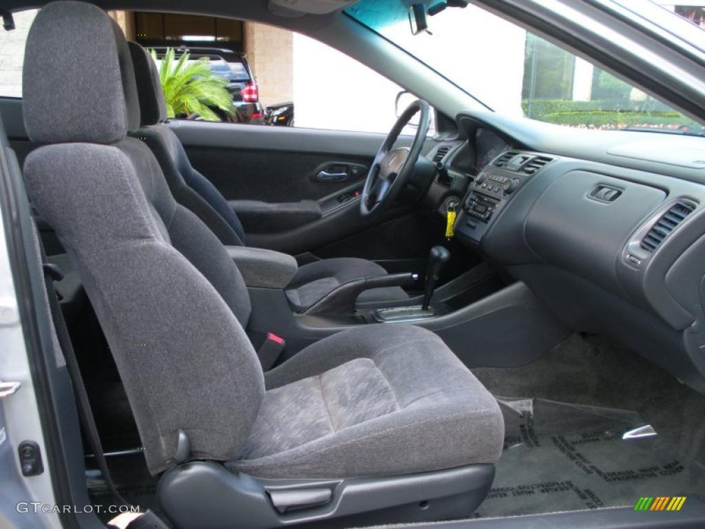 Charcoal Interior 2001 Honda Accord LX Coupe Photo 40737283
