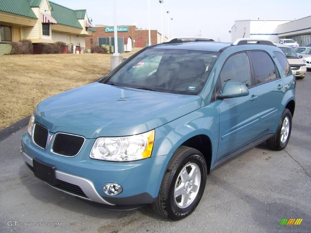 2008 Teal Metallic Pontiac Torrent 4046997 Gtcarlot Com