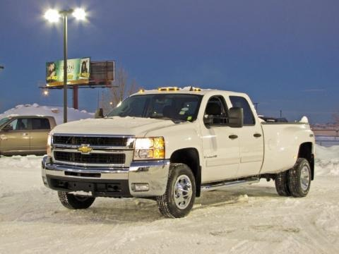 2009 Chevrolet Silverado 3500HD LT Crew Cab 4x4 Dually Data, Info and Specs