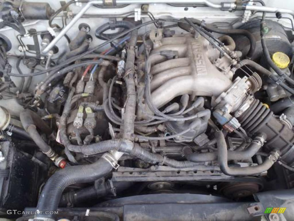 2002 Nissan Xterra XE V6 3.3 Liter SOHC 12-Valve V6 Engine Photo #40757491
