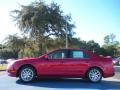 2011 Red Candy Metallic Ford Fusion SEL V6  photo #2