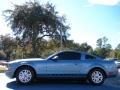 2006 Windveil Blue Metallic Ford Mustang V6 Premium Coupe  photo #2