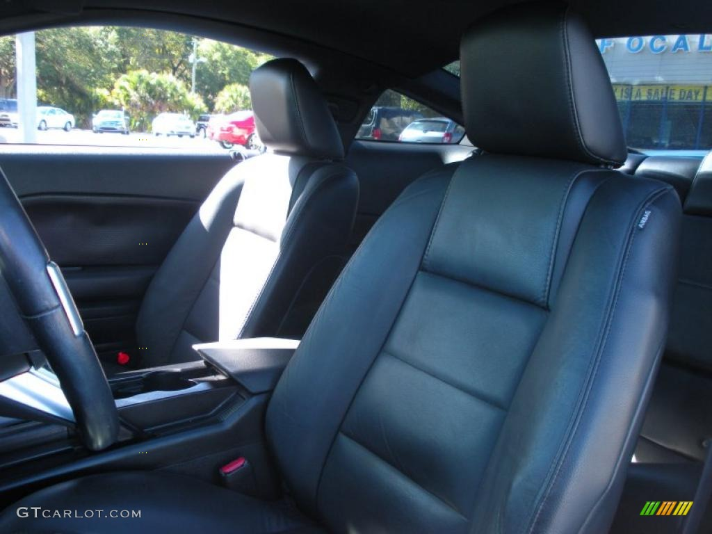 Dark Charcoal Interior 2006 Ford Mustang V6 Premium Coupe Photo #40759223