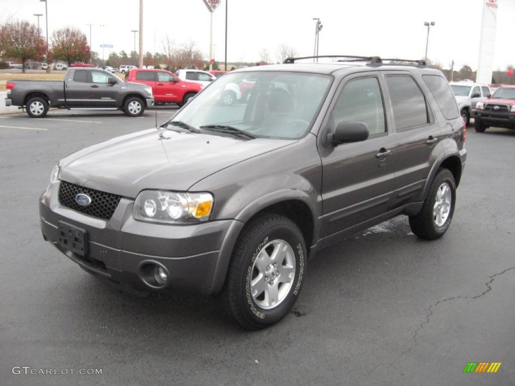 dark shadow grey metallic 2006 ford escape limited. Black Bedroom Furniture Sets. Home Design Ideas