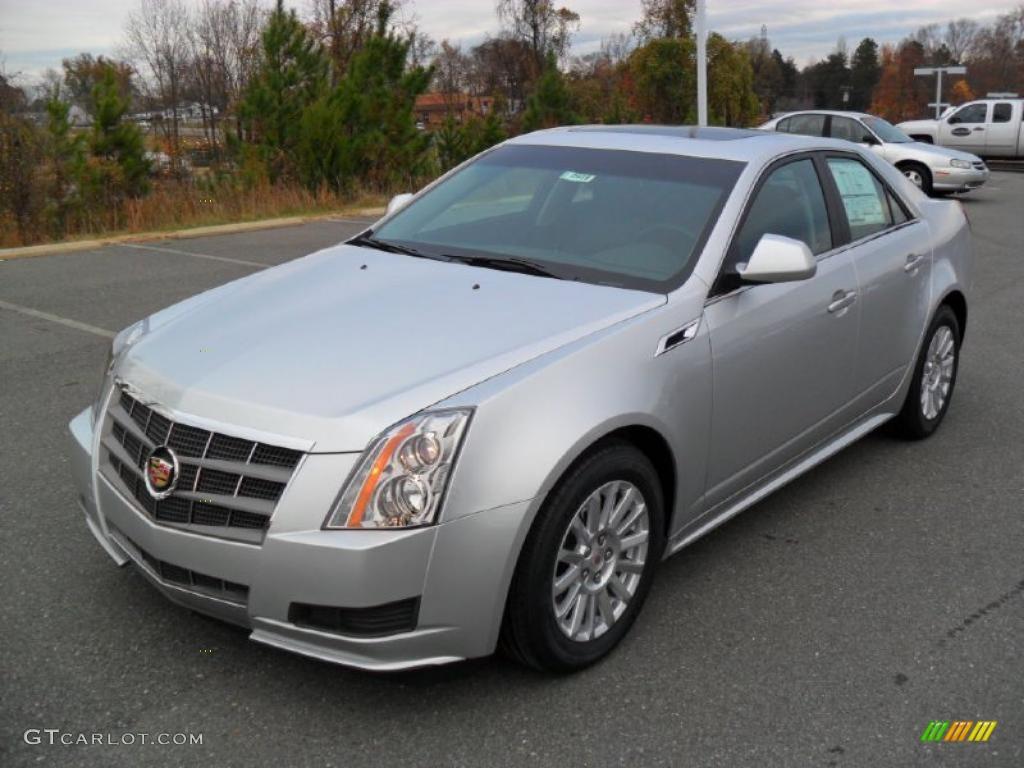2011 Radiant Silver Metallic Cadillac Cts 3 0 Sedan