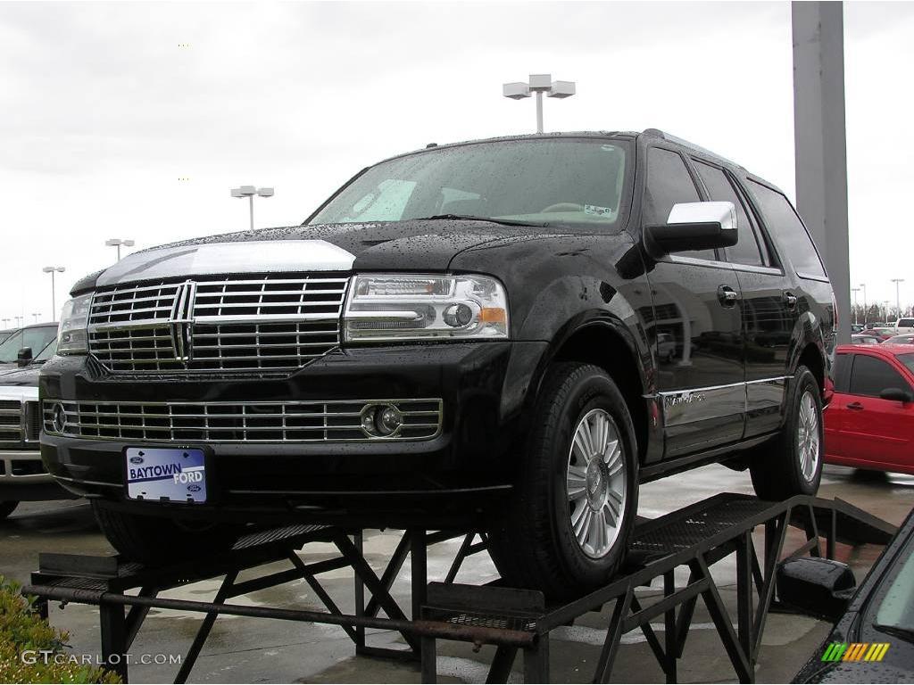 2007 Black Lincoln Navigator Luxury 4047686 Car Color Galleries