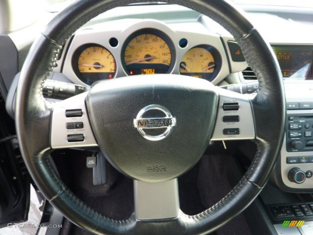 2004 Nissan Murano Sl Awd Steering Wheel Photos Gtcarlot Com