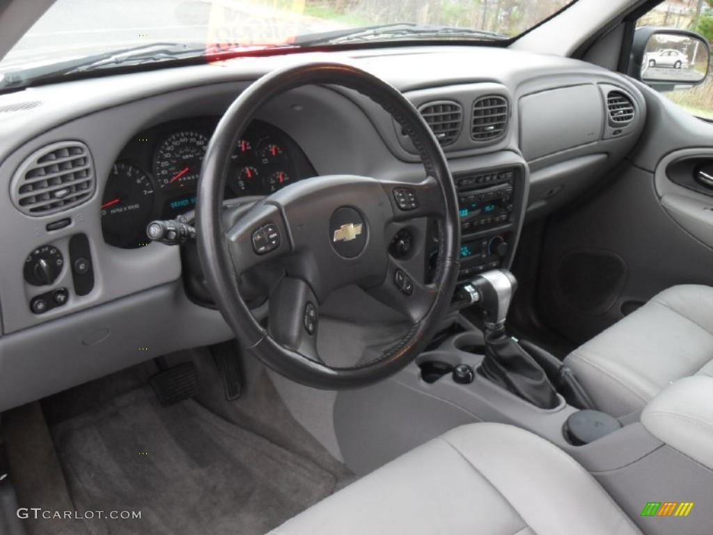 Light Gray Interior 2006 Chevrolet Trailblazer Ext Lt 4x4 Photo 40777387