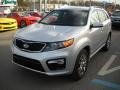 2011 Bright Silver Kia Sorento SX V6 AWD  photo #13