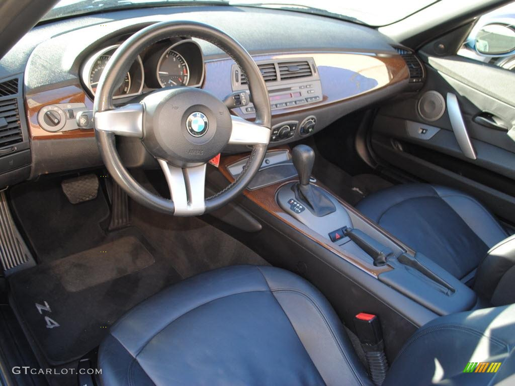 Black Interior 2003 Bmw Z4 2 5i Roadster Photo 40792583