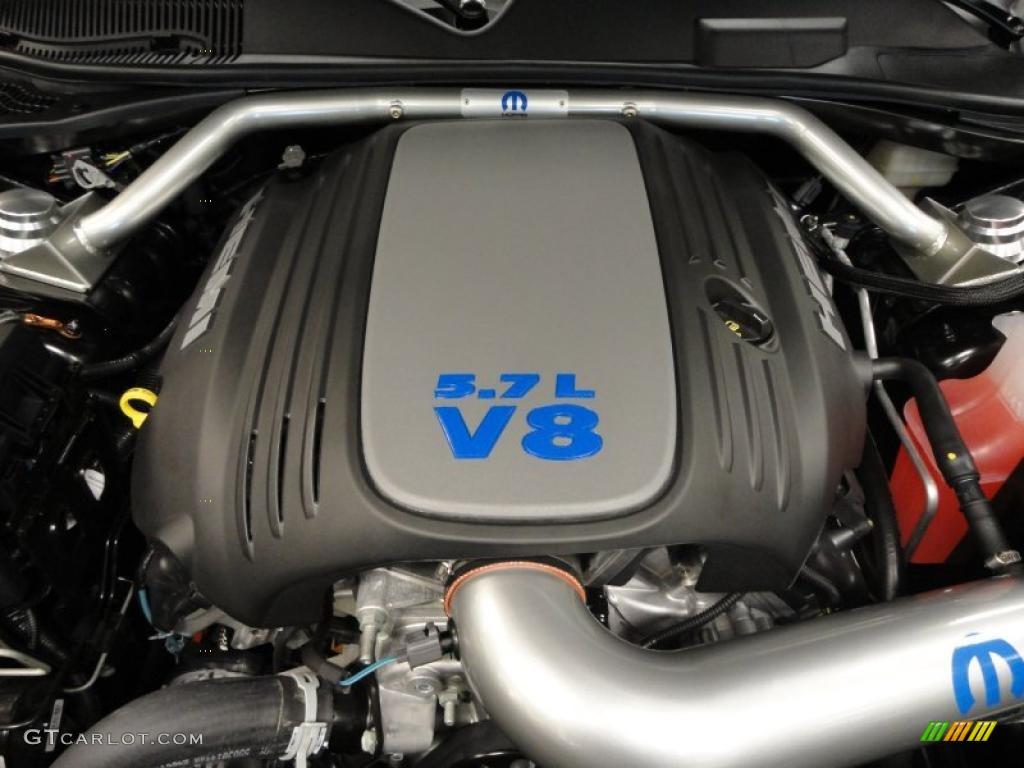 2010 dodge challenger r t mopar 39 10 5 7 liter hemi ohv 16 valve mds vvt v8 engine photo. Black Bedroom Furniture Sets. Home Design Ideas