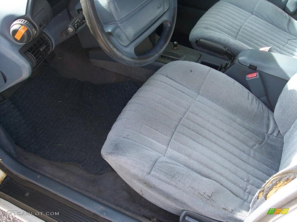 Blue Interior 1995 Chevrolet Corsica Standard Corsica