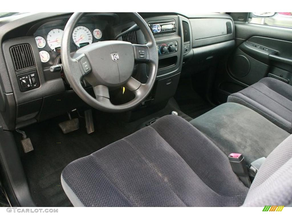 dark slate gray interior 2004 dodge ram 1500 slt regular. Black Bedroom Furniture Sets. Home Design Ideas