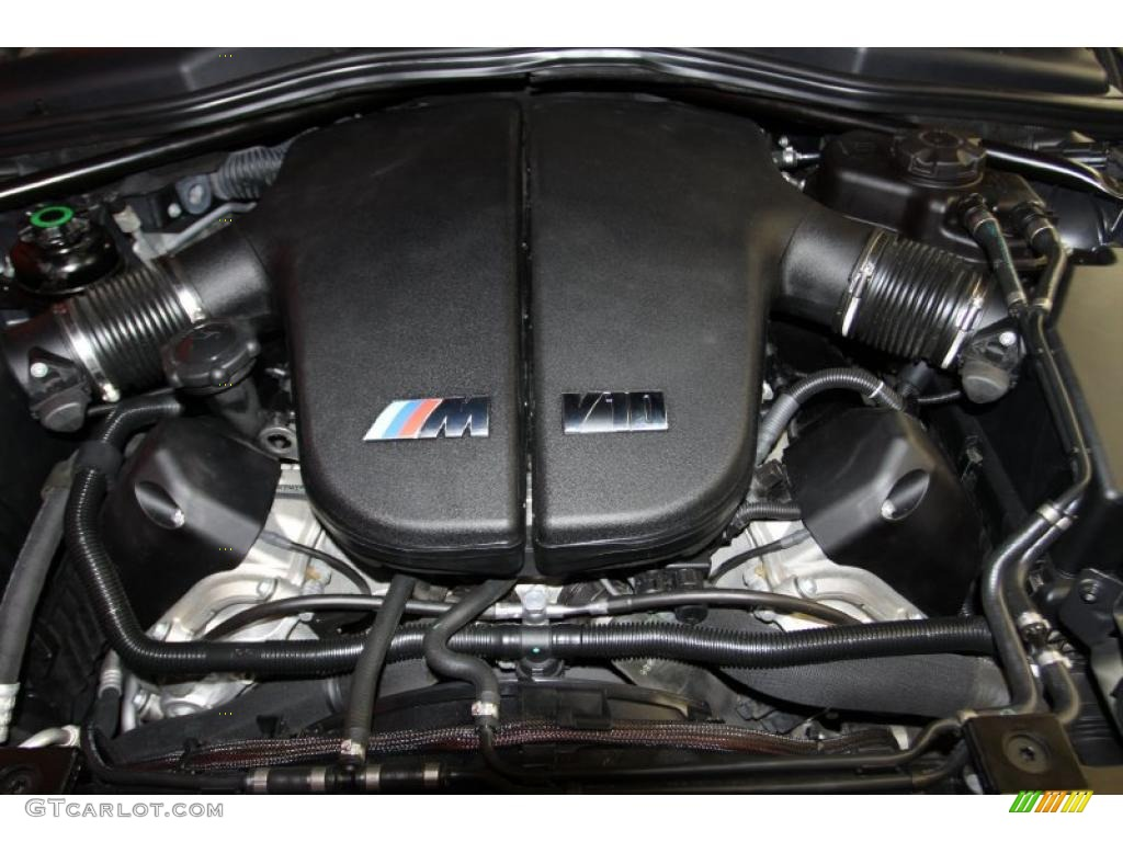 2006 bmw m6 coupe 5 0 liter dohc 40 valve vvt v10 engine photo 40797757. Black Bedroom Furniture Sets. Home Design Ideas