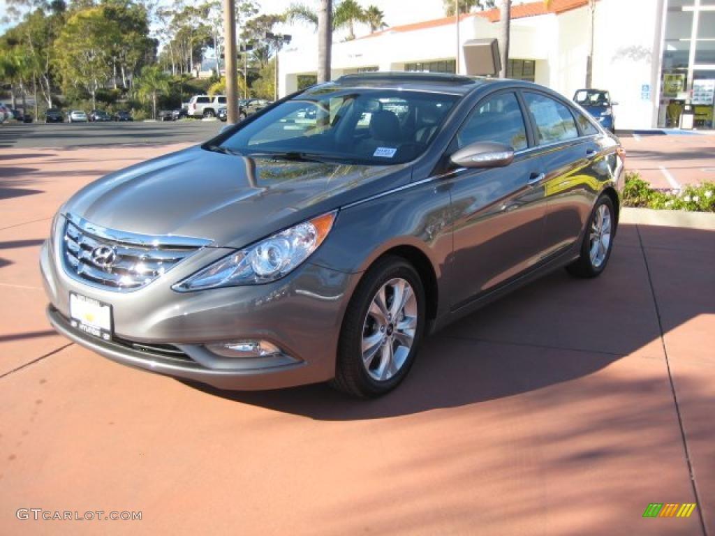 2011 Harbor Gray Metallic Hyundai Sonata Limited 40755968