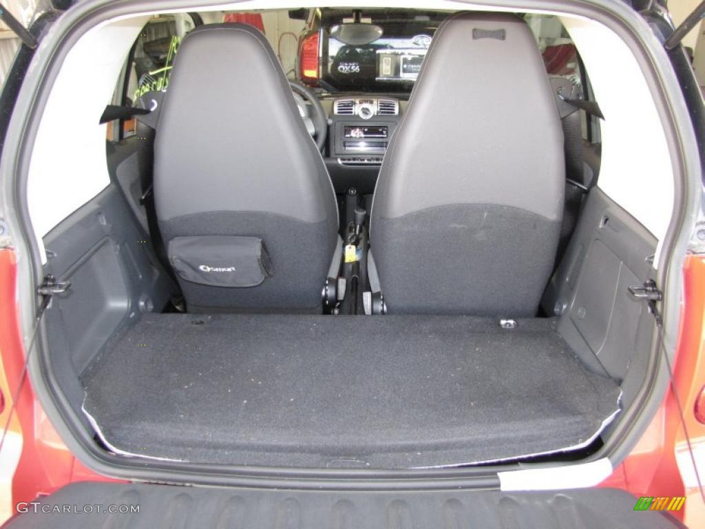 2009 smart fortwo pure coupe trunk photo 40808639. Black Bedroom Furniture Sets. Home Design Ideas