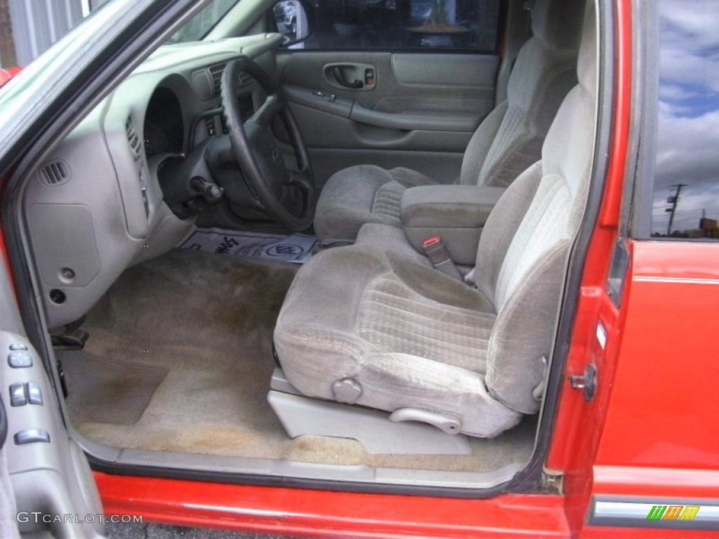 2001 Chevy S10 Extended Cab Interior