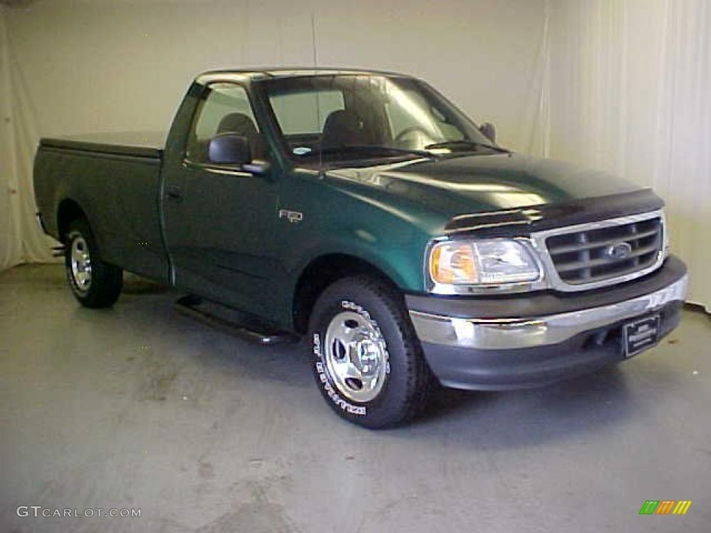 Amazon green metallic ford f150