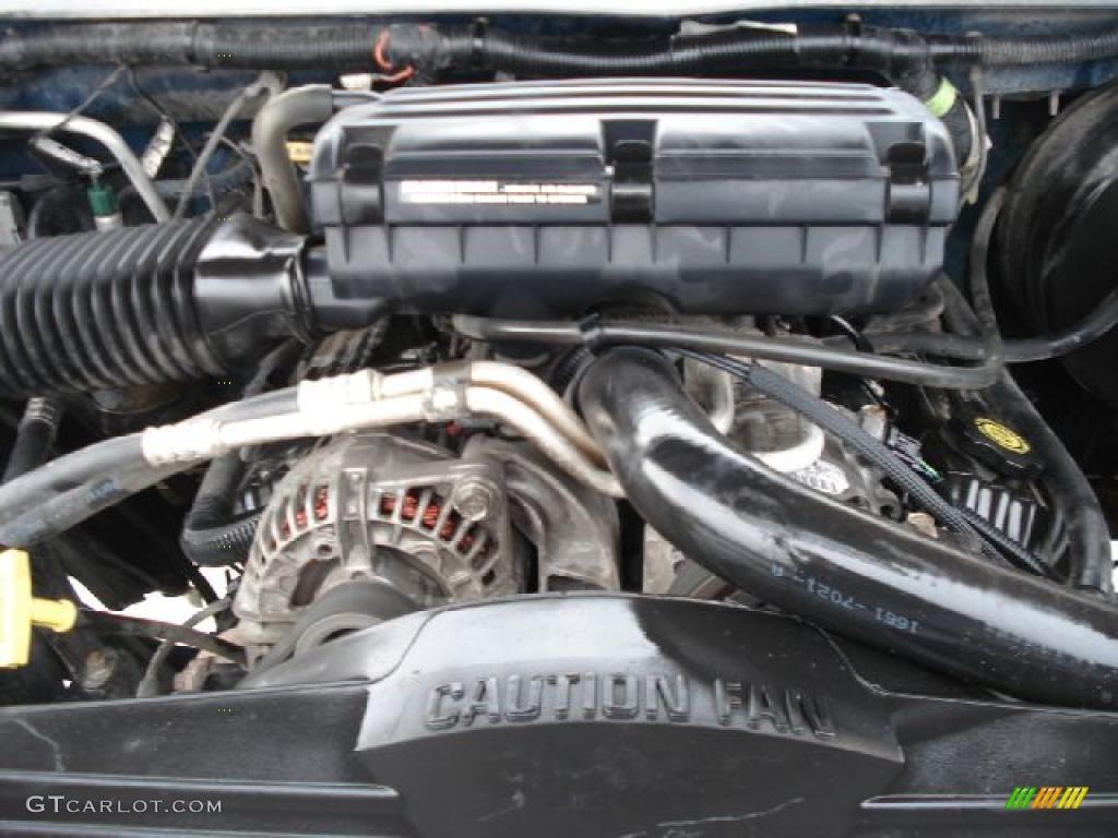 2001 Dodge Ram 2500 SLT Regular Cab 4x4 5.9 Liter OHV 16-Valve Magnum V8 Engine Photo #40813059 ...